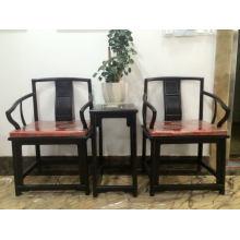 Afrikanischer Ebenholz-Möbel 3sets Stuhl