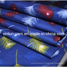 Tela azul do jérsei da impressão de Digitas para a cortina / fundamento