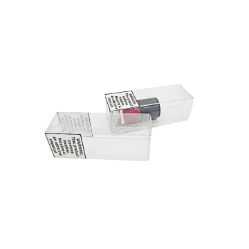 Boîte en plastique PET en plastique transparent cadeau transparent