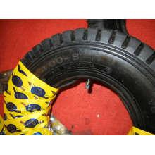 Pneus do carrinho de rodas, 4.00-8 Pneus do carrinho de rodas e tubo e roda pneumática