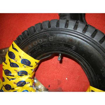 Neumáticos para carretilla, 4.00-8 Neumático y tubo para carretilla y rueda neumática