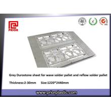 Feuilles gris Durostone Grade Optical pour four étain Jig