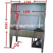 tanque de lavagem de tela de aço inoxidável para lavagem de emulsão