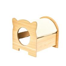 Double Door Cat Beds And Sleeping Scratchers Cat House Tree Scratcher