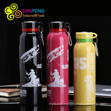 wholesale YongKang stainless steel extreme movement outdoor travel double layer flask vacuum insulation water bottle