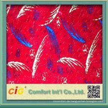 2014 China neuesten Druck Designs gedruckt Polyestergewebe für Auto und Bus Sitzbezug