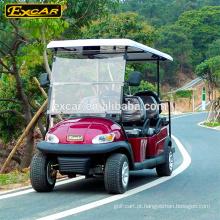 Carrinho de golfe elétrico de 6 lugares 4 rodas motrizes carrinho de golfe elétrico preço mini-bus de turismo