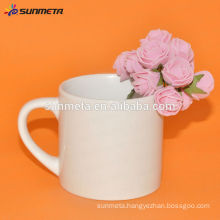 6OZ Sublimation white coffee mugs with cheap price