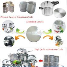 Cercle d'aluminium réfléchissant plat plat fabriqué en Chine