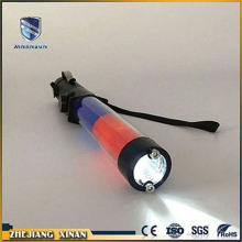 long consumption white color led traffic warning baton