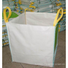Top Open PP saco tecido tecido super para resíduos de jardim