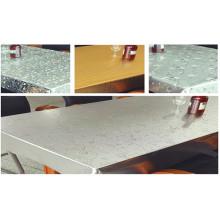 Tissu de table en cristal PVC transparent à l'eau