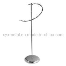 Einzelhandel Kleidungsstück Display Stoff Metall Kleidung Kleidung Spiral Rack (YJ-015)