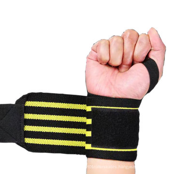 Breathable Elastic Wraps Sport Dumbbell Fitness Protective Wristband wrist wrap