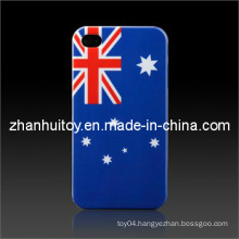 Flag Smooth Plastic Hard Skin Case Cover for iPhone (AU)