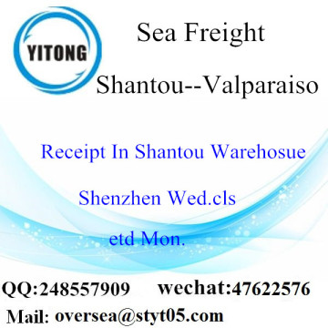 Shantou Port LCL Consolidation To Valparaiso