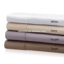 Ensemble de draps de coton en coton 600TC