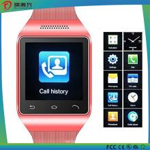 Telefone esperto do relógio da tela de toque de 1,54 polegadas com SIM