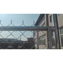 Оцинкованный временный забор