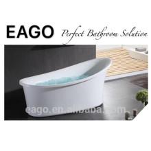 EAGO Free standing Clássica oval banheira de bolha de acrílico GFK17001