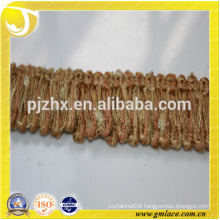 polyester stock Fringe for dresses and home decoration