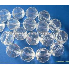 Klare Kristallperlen, Glasperlen für Kronleuchter, Kristallkugelperlen
