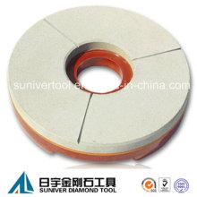 Enlace de la resina de pulido rueda para moler y pulir piedra