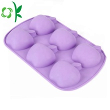 Apple Shape Cake Mold Funny Silikon 6Cavity Mold