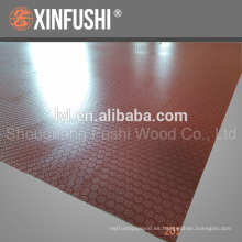 1220 * 2440 * 9mm Película antideslizante enfrentada Contrachapado hecho en China