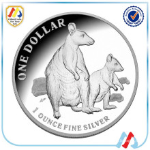 professional old silver coin replica for collection