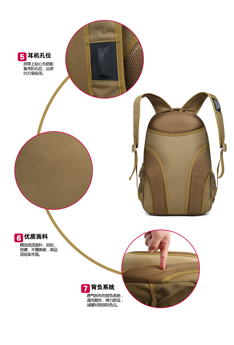 ACU Airsoft Rucksack Backpack
