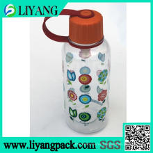 Flower Design, Heat Transfer Film for Plastic Water Bottle
