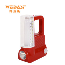 portable rechargeable lead acid battery plastic camping lantern wholesale