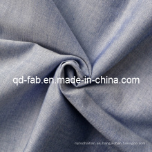 100% hilo de algodón teñido de tela (QF13-0749)