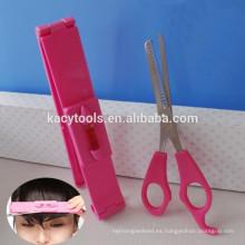 Juego de herramientas para cortar cabello con conmutadores de nivel giratorio