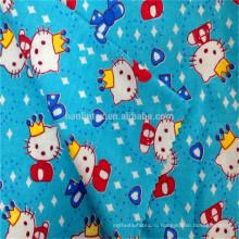 100% хлопок 2016 новый дизайн 150gsm детская фланелевая ткань для детского постельного белья наборы фланелевые ткани