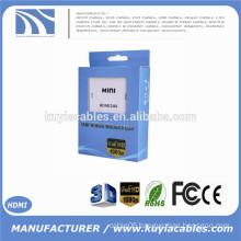 New 720P 1080P Mini HDMI to RCA Composite Video Audio AV CVBS Adapter Converter
