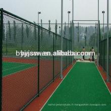 Clôture de jardin / treillis métallique de Rhomus / clôture de lien de chaîne bon marché