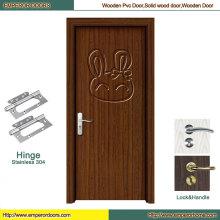 Двери из ПВХ Китай ПВХ входной двери деревянные двери