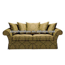 Green color pattern living room sofa furniture XY0881