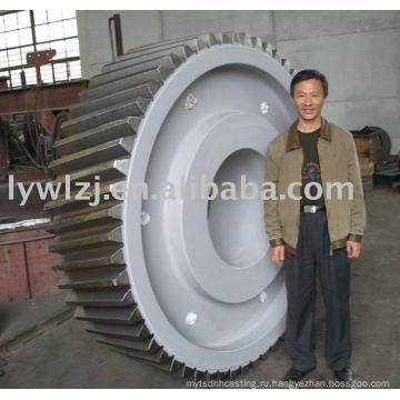 Кованое зубчатое колесо