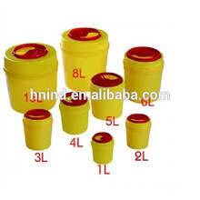 high quality plastic medical sharp container in china