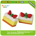 Joy Eraser Strawberry Cake Eraser For Toys