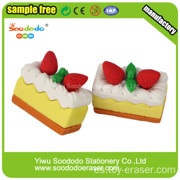Joy Eraser Strawberry Cake Eraser Para Juguetes