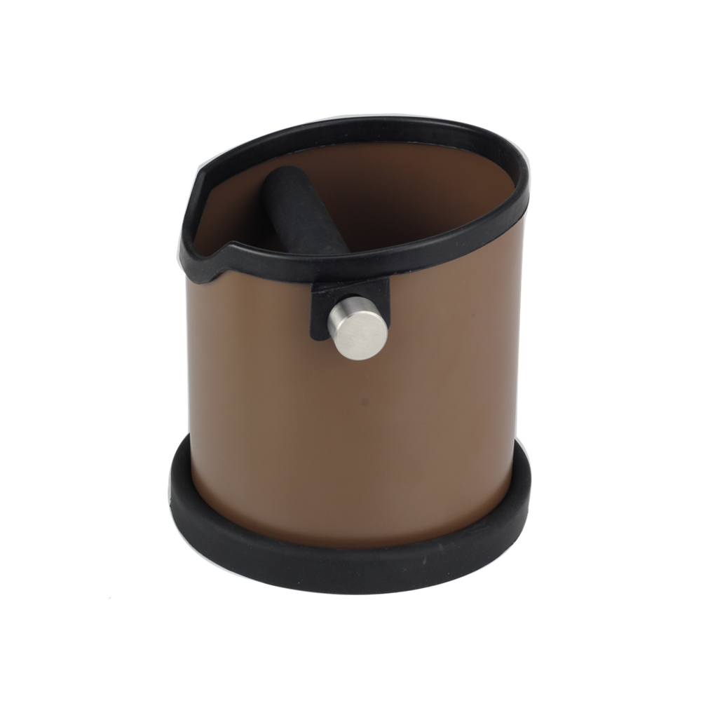 Removable Silicone Handle Coffee Knock Box