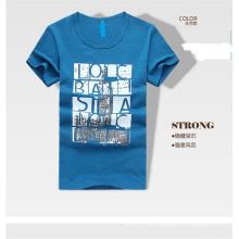 Soem 100% Baumwolle Heißes Salefashion Männer T-Stücke Männer T-Shirt