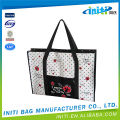 Polyester nylon logo personnalisé pvc clear zipper bag