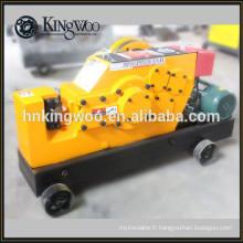 Machine de cisaillement de rebar de machine de coupe de barre d'acier de 40mm