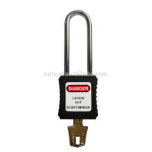 Las mejores ventas aprueban la cerradura y el tagout del grillete del acero inoxidable de la certificación 304 del CE