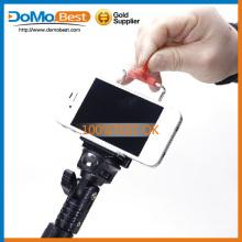 Nouveau bâton de selfie produit avec bluetooth, téléphone intelligent selfie, selfie bâton avec télécommande